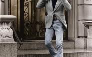 non si dice piacere - giacca e jeans robert-redford