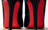 louboutin - suola rossa - personalizzazione - non si dice piacere