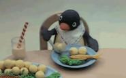 non si dice piacere - pinguino- a tavola