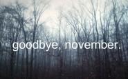 goodbye novembre - welcome december natale autunno winter - non si dice piacere - galateo buone maniere