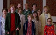 mamma-ho-perso-l-aereo famiglia risveglio natale jingle bells - home alone parents - pigiama - non si dice piacere bon ton buone maniere - galateo