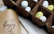1 tavola pasquale chic pasqua - easter table  setting non si dice piacere galateo bon ton buone maniere enjoy uova