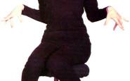 audrey ballerine nero total black look - non si dice piacere - bon ton buone maniere - galateo