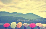 ombrelli colorati umbrella non si dice piacere - bon ton buone maniere