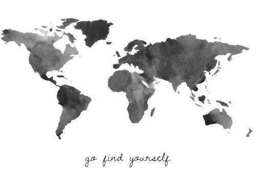 go find yourself- mondo-viaggiare-staccare-ritrovarsi-non si dice piacere