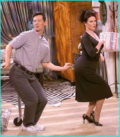 will and grace- couple-dance-darma-non si dice piacere-.-bon ton coppia