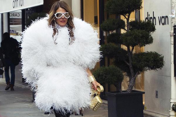 anna dello russo - moda-sciovolene di stile buccia di banana - non si dice piacere- buon gusto - blog