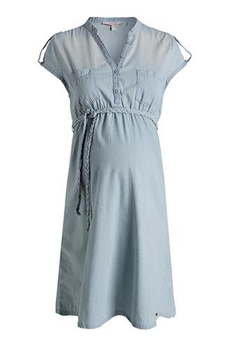 esprit-premaman-stone-jeans-vestito-non si dice piacere- come vestirsi in gravidanza