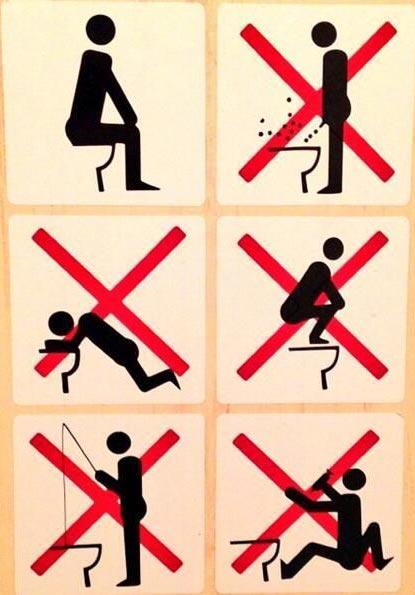 toilette- bagno ufficio- come comportarsi-non si dice piacere-bon ton buone maniere