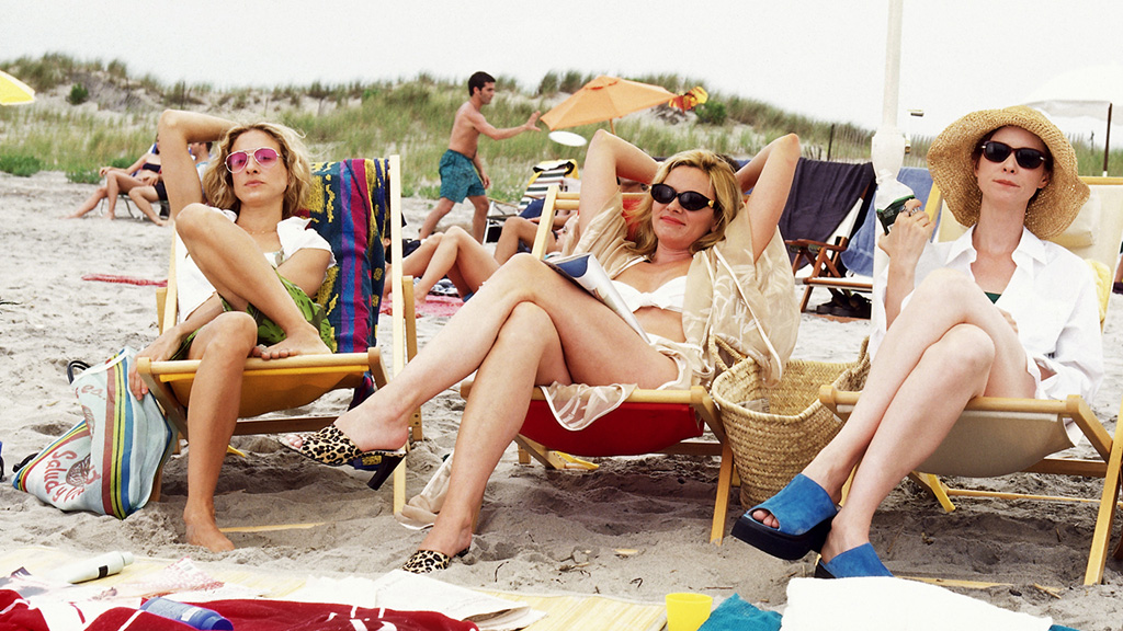 sex and the city- beach-spiaggia-estate-buoni-propositi-prova-costume-non-si-dice-piacere-bon-ton