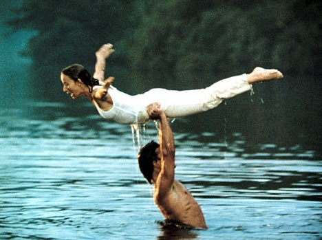 dirty dancing-volo-angelo-ballo-danza-non si dice piacere