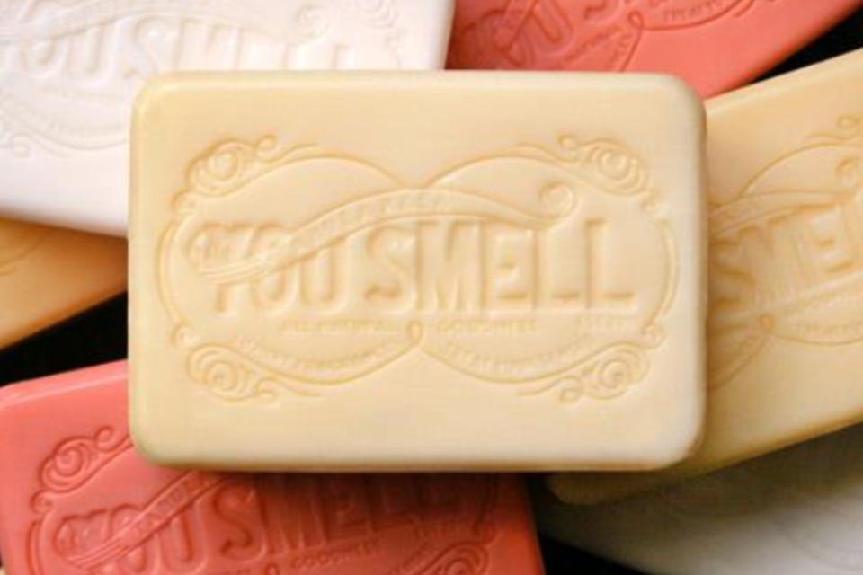 saponetta - smell - profumo - you smell - non si dice piacere