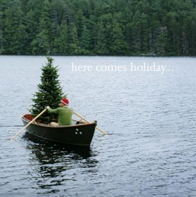 regali ultimo minuto - albero babbo nalate here comes holiday - non si dice piacere galateo jinglebells natale bon ton