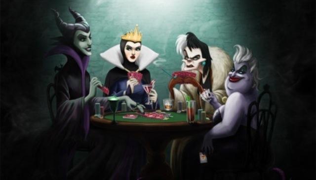 poker-disney-regine-mischiare-carte-regole-stati-d-animo-non-si-dice-piacere-bon-ton-buone-maniere-galateo