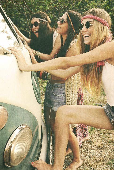 hippy stile occhiali da sole woodstock