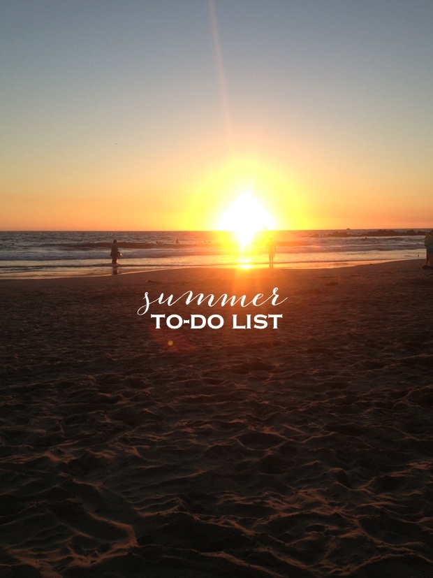 to do list -summer- estate-prima di partire