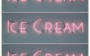 ice cream-gelato-neon-mangiare