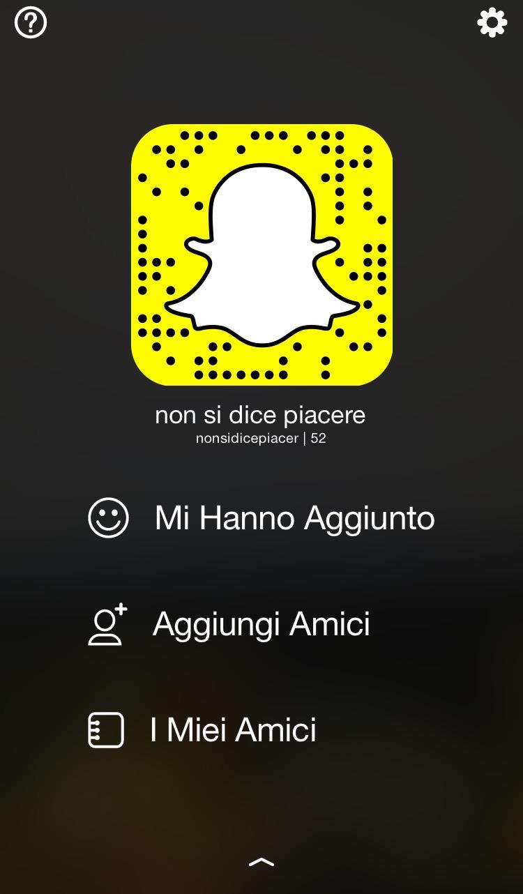 snapchat-non si dice piacere- come usarlo