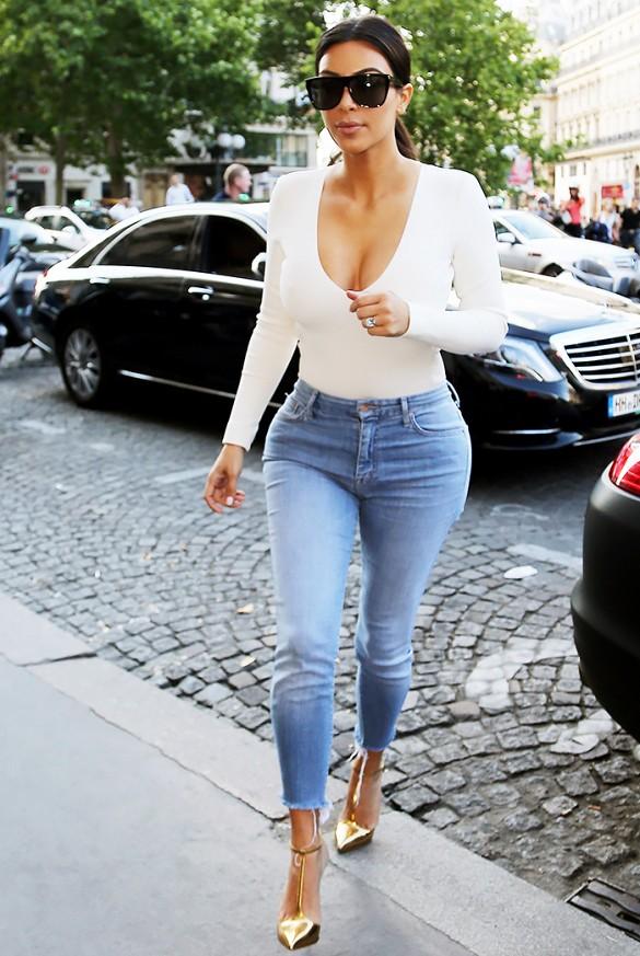 kim Kardashian-jeans-body-tacco