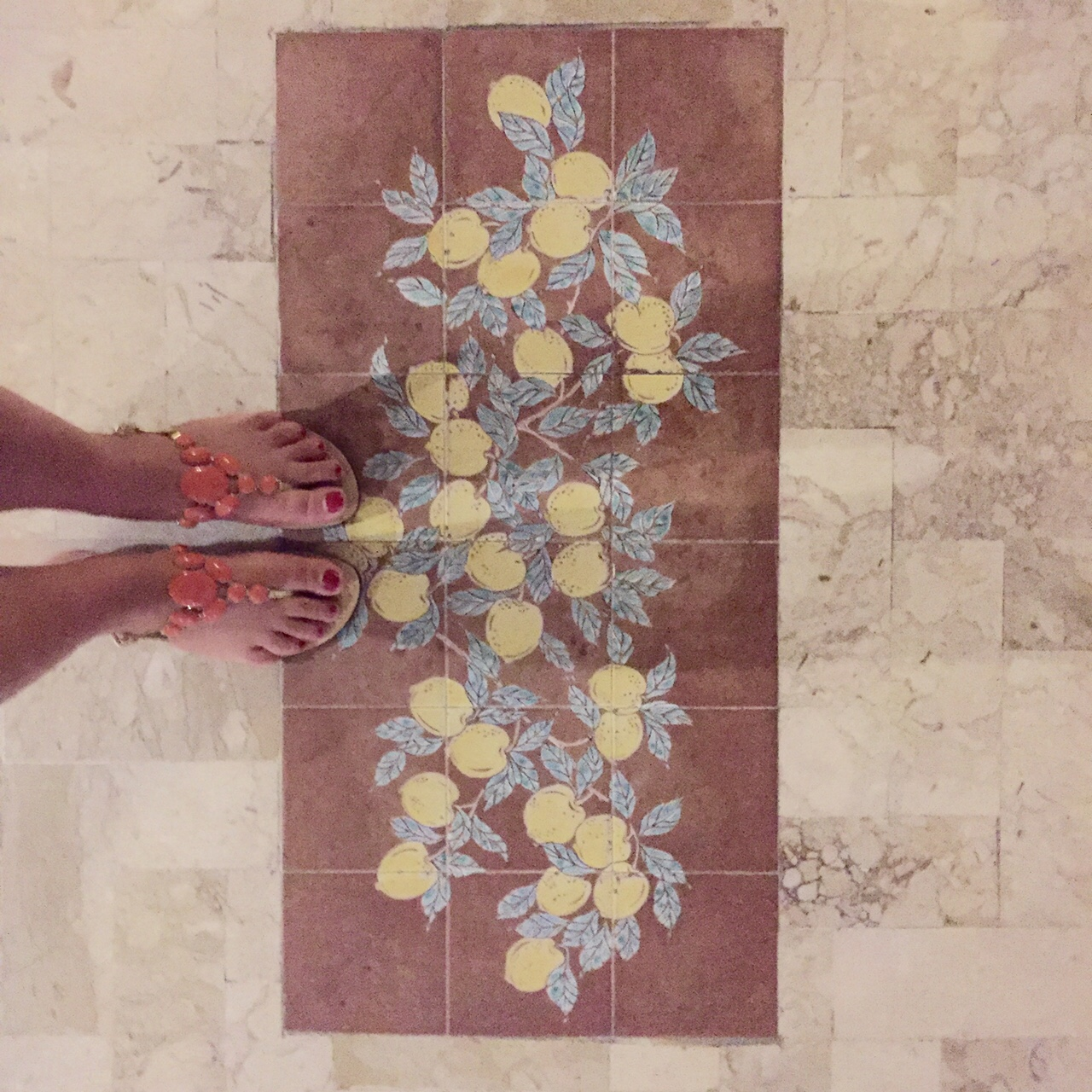 sandali costanzo capri limoni
