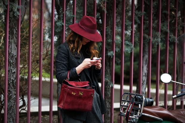 cappello abbinato borsa en pendant