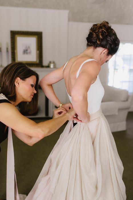 prova vestito sarta dimagrire sposa
