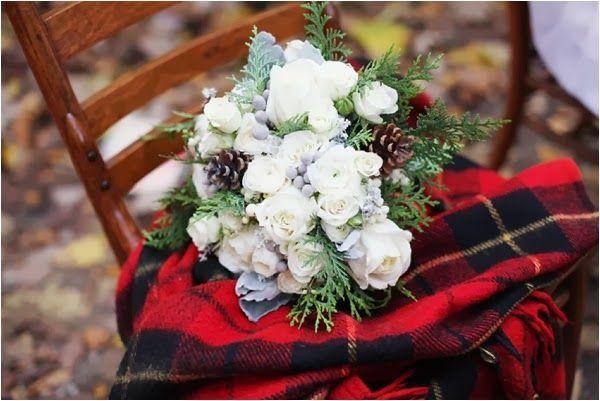 bouquet- coperta- matrimonio inverno