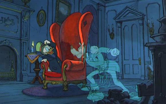 canto natale topolino fantasma natale