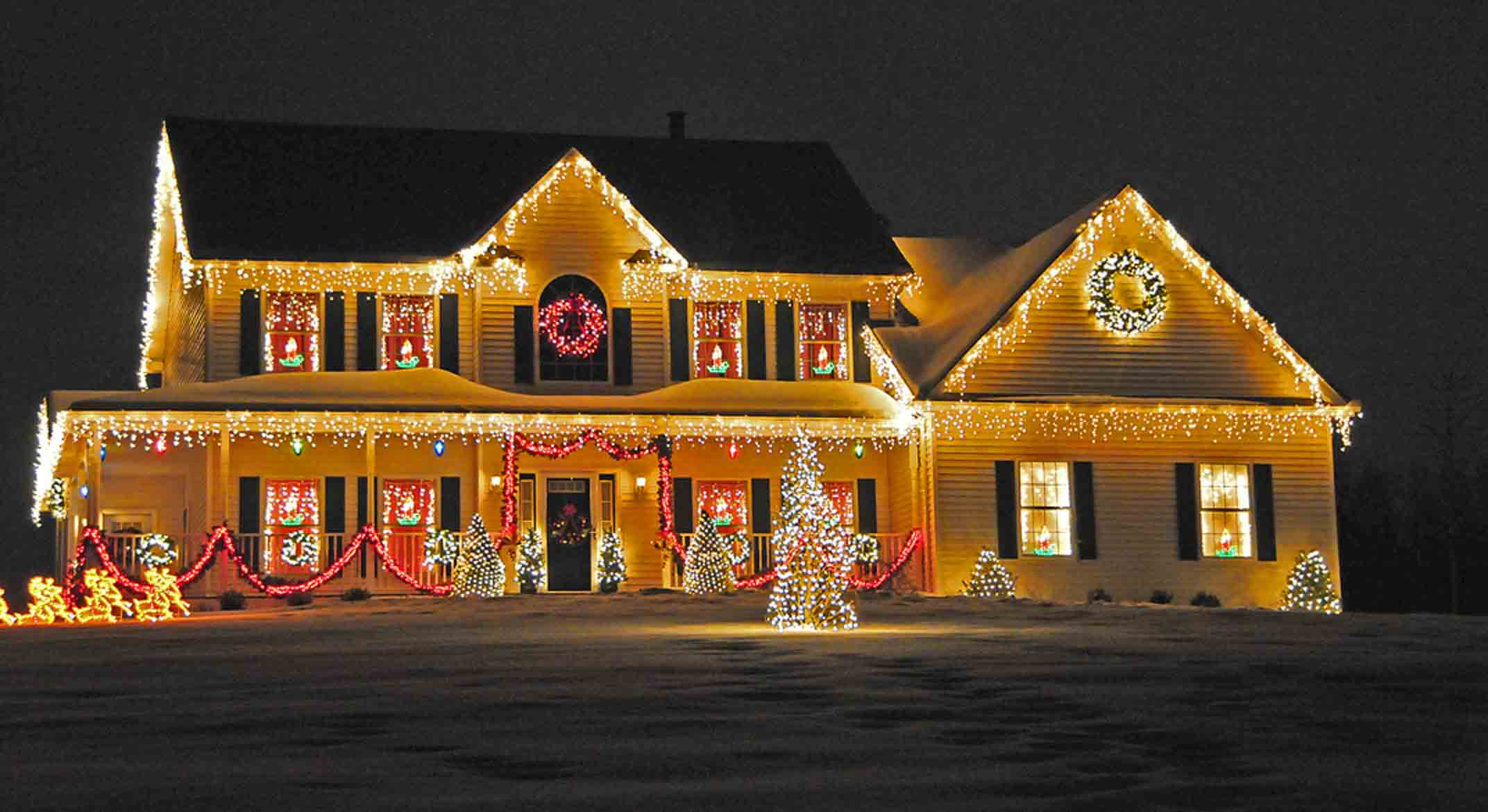 christmas-lights-house- luci natale las vegas kitsch