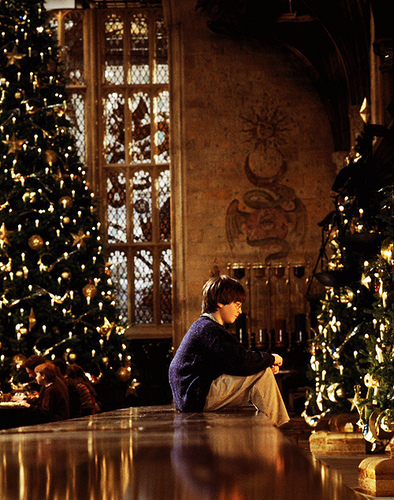 harry potter- christmas- malinconia natale