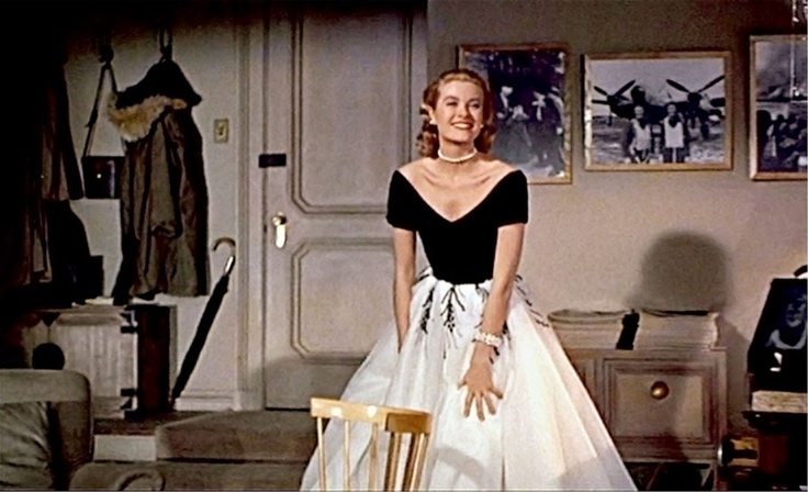 la finestra sul cortile- grace kelly- dior tulle