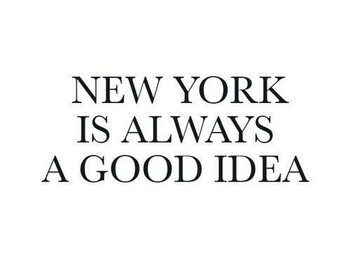 new york is alway a good idea- natale a new york