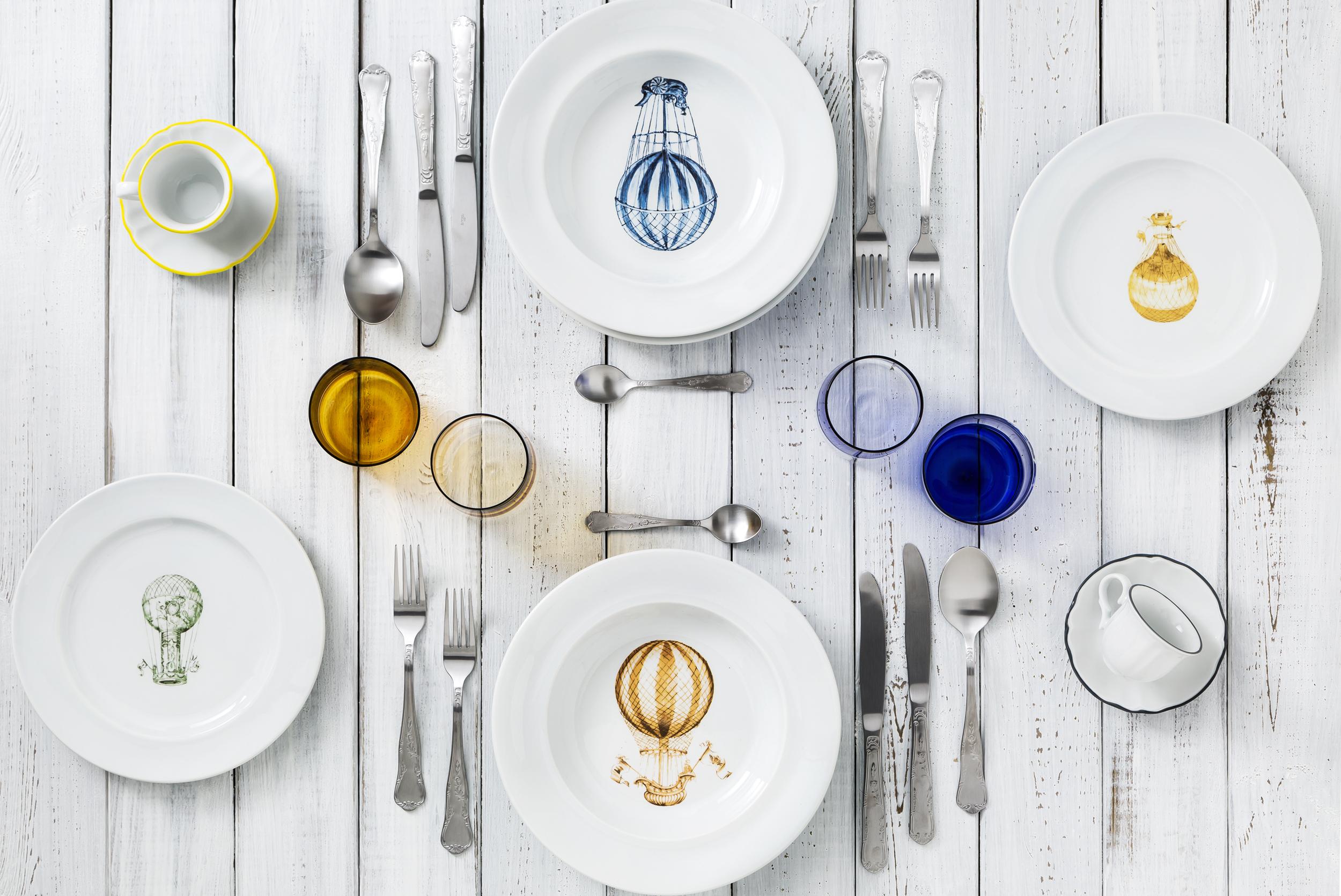 02-Dalani-tavola-Colour-Splash-trend-Primavera- laboratorio paravicini mongolfiera come apparecchiare tavola