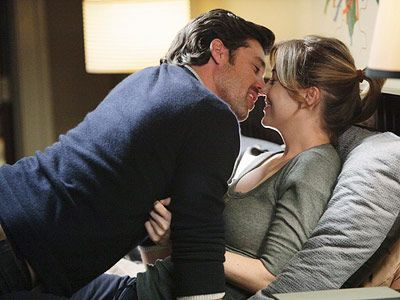 bacio impegno amore grey's anatomy- piccole cose
