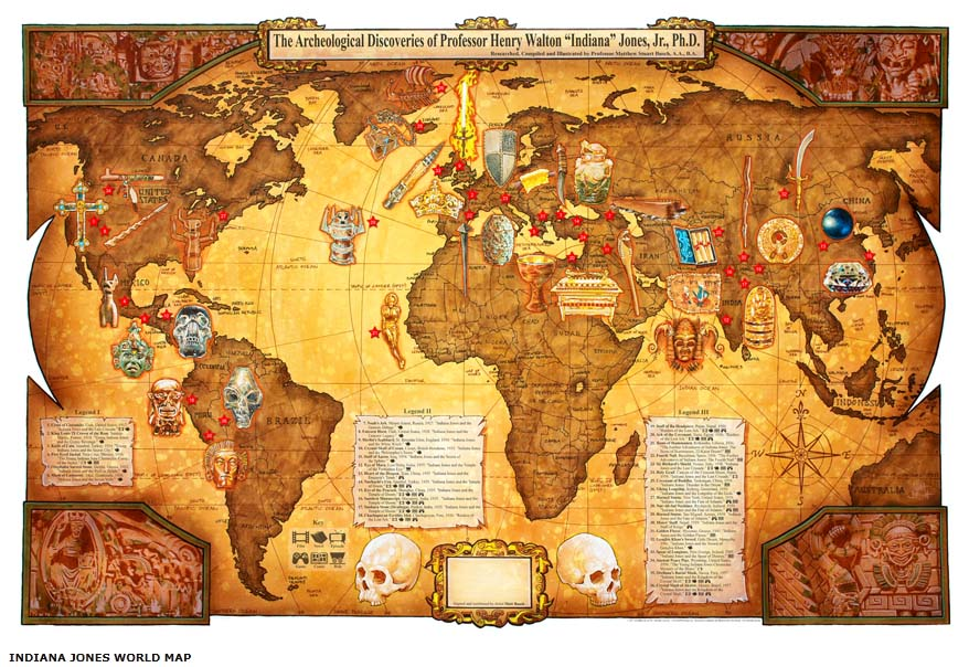 Indiana-Jones-Mappa . Scoperte - collezioni-71