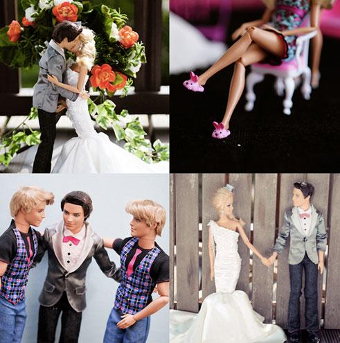 foto-matrimonio-barbie-tight sposo - vestito - non si dicepiacere
