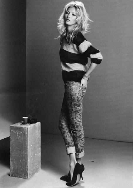 Kate Moss tacchi jeans come mettere tacchi alti