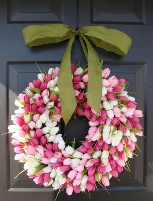 corona tulipani primavera fiori