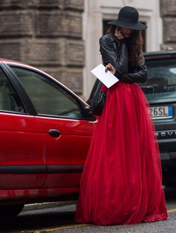 giacca pelle abito sera - abbinamento - must have