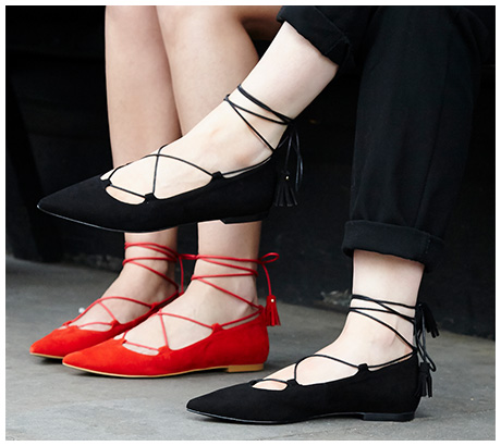 lace-up-pointed-flats-black-red-suede-aquazzura-scarpe punta 2016