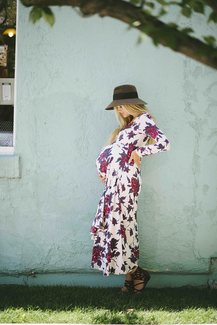vestiti aderenti - mamma- pregnant come vestirsi moda