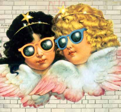 Fiorucci vintage angeli anni 90 retaggi