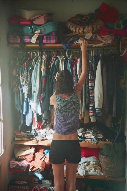 armadio vuoto piano shopping cambio stagione