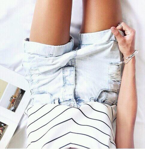 come indossare gli shorts e dove