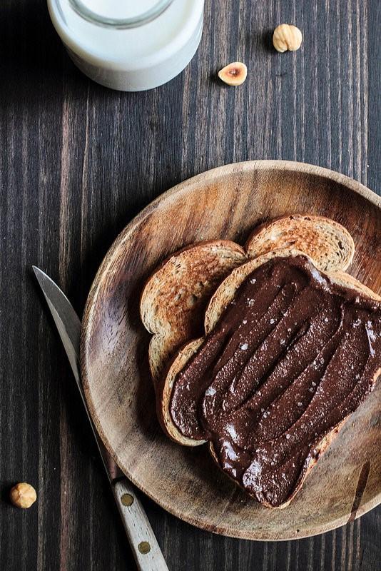 pane e nutella - dolci buongiorno