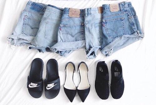 shorts jeans trovare come metterli abbinarli