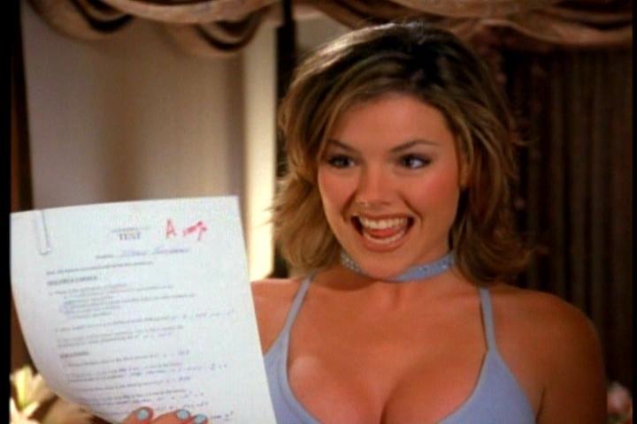 Clare-beverly-hills-90210-compiti in classe recupero maggio scuola decisioni