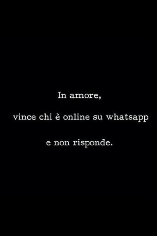 amore whatsapp- visualizza non risponde