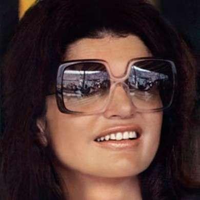 jackie-kennedy- occhiali da sole rettangolare - viso tondo