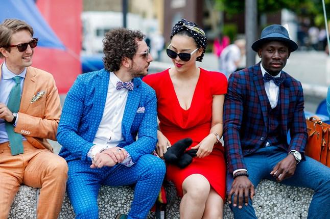 pitti 2016- giugno - street style- vogue colori estate scegliere solstizio moda